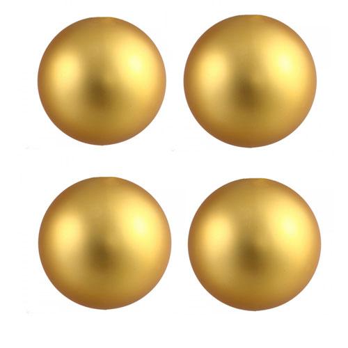 House Of Eros Gold Magnetic Nipple Balls 6.4mm - HEMBG6