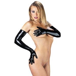 Rubber Secrets Long Gloves - r9056